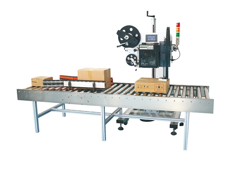 6600不同规格纸箱打印贴标机